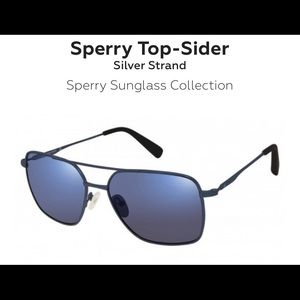 NWT Top Sider- silver Strand Sperry sunglasses men